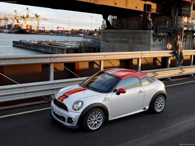Mini Coupe john cooper works cars 2012 wallpaper