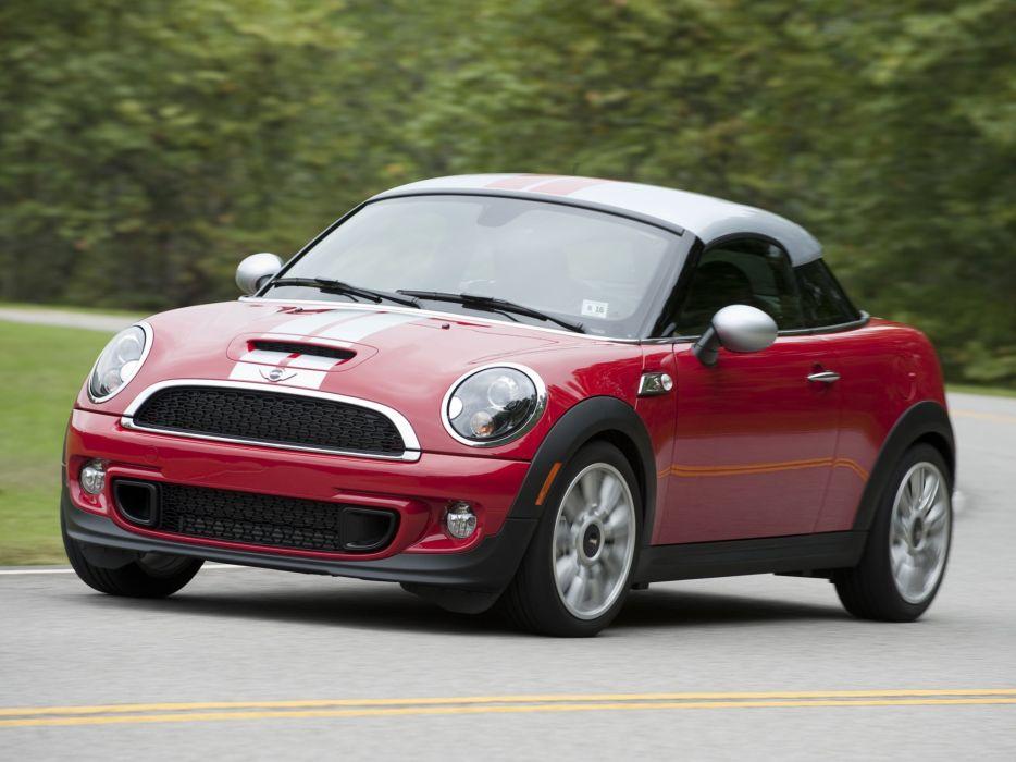 Mini Coupe Cooper-S cars US-spec 2011 wallpaper