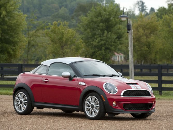 Mini Coupe Cooper-S cars US-spec 2011 wallpaper