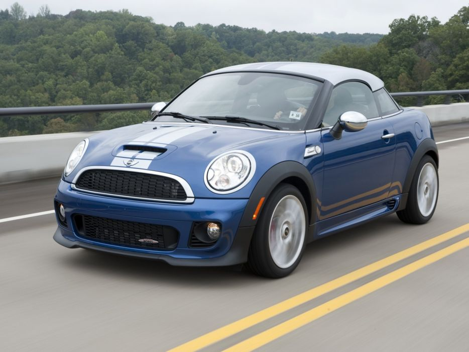 Mini Coupe John Cooper Works cars US-spec 2011 wallpaper