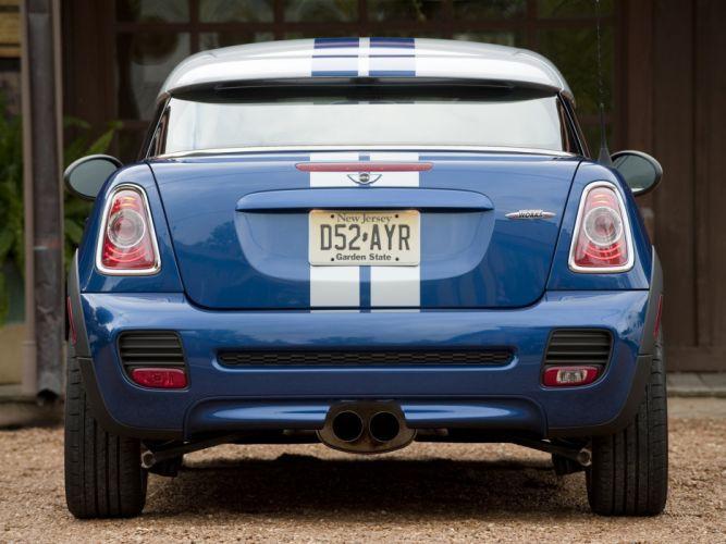 Mini Coupe John Cooper Works cars US-spec 2011 wallpaper