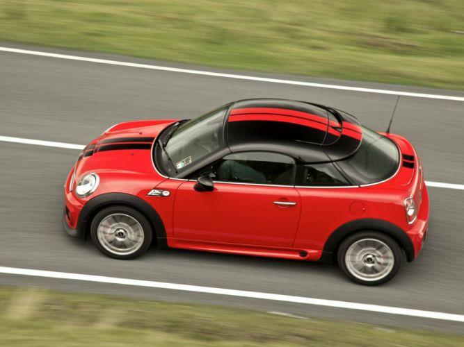 Mini Coupe John Cooper Works cars UK-spec 2011 wallpaper