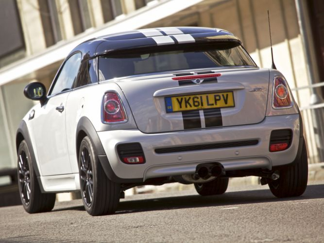 Mini Coupe John Cooper Works cars UK-spec 2011 wallpaper