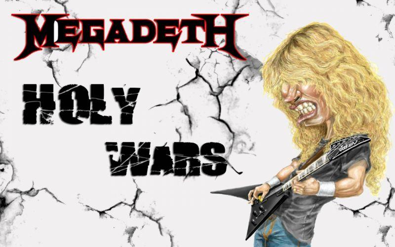 MEGADETH thrash metal heavy poster guitar f wallpaper