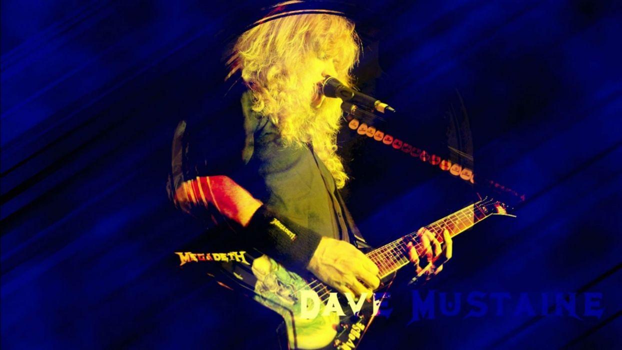 MEGADETH thrash metal heavy poster guitar concert f wallpaper