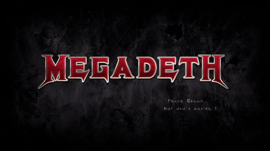 MEGADETH thrash metal heavy poster g wallpaper