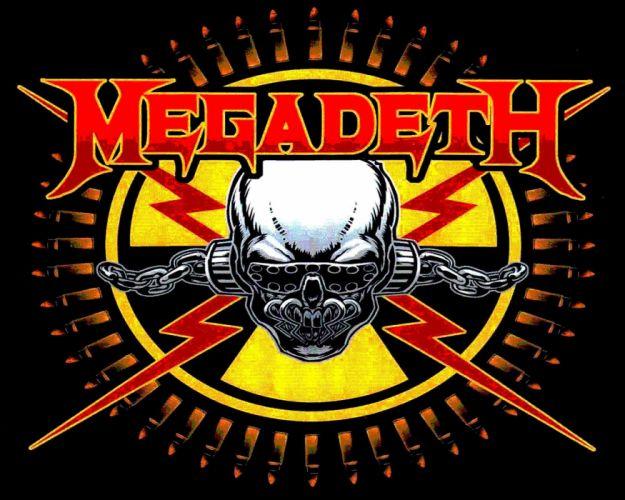 MEGADETH thrash metal heavy poster dark skull hu wallpaper