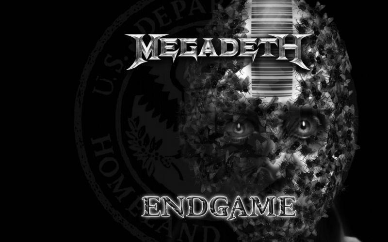 MEGADETH thrash metal heavy poster dark skull fl wallpaper