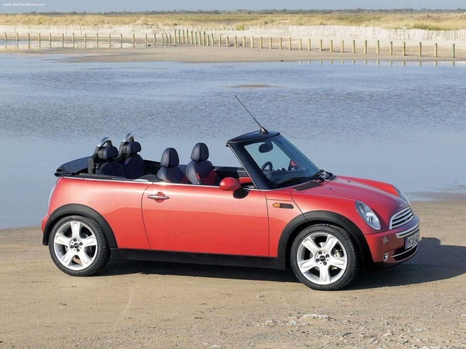 Mini Cooper Convertible cars 2005 wallpaper
