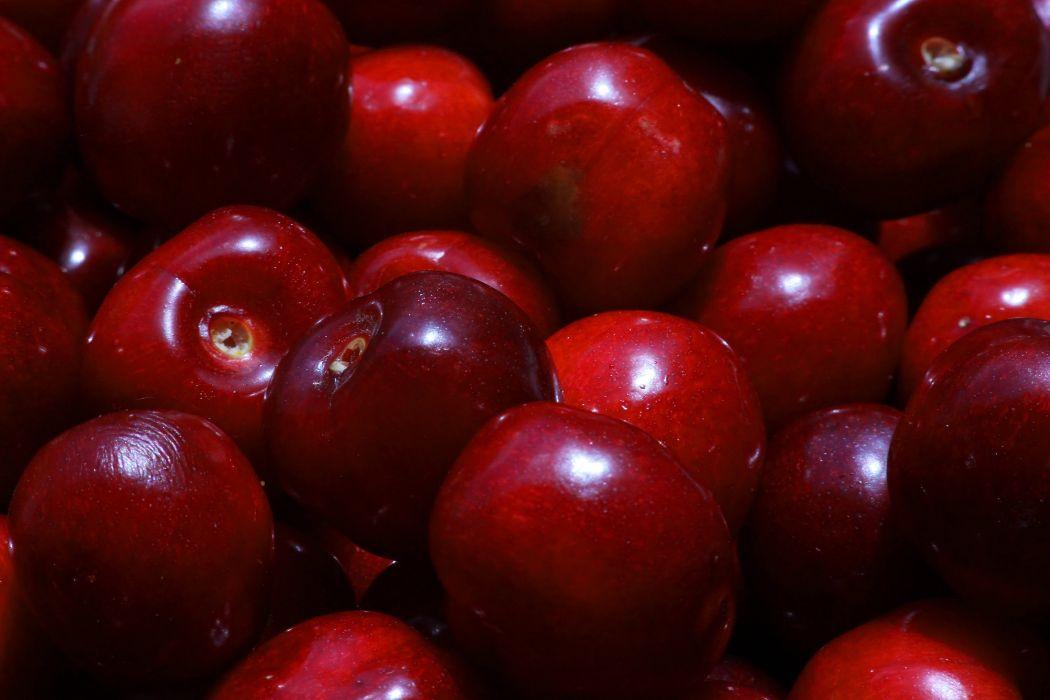 merry cherry berry berries texture macro ripe tasty delicious wallpaper