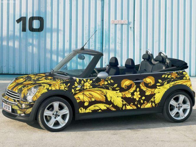 Mini Versace Cabrio cars modified 2005 wallpaper