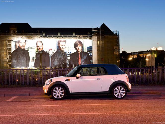 Mini Cooper Convertible cars 2009 wallpaper