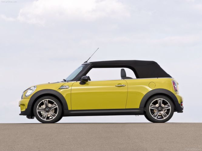 Mini Cooper-S Cabrio cars 2009 wallpaper