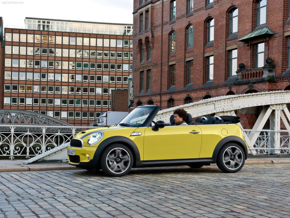 Mini Cooper-S Cabrio cars 2009 wallpaper