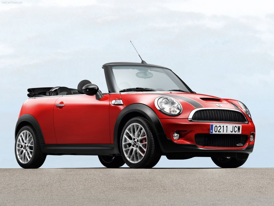 Mini John Cooper Works Convertible cars 2010 wallpaper