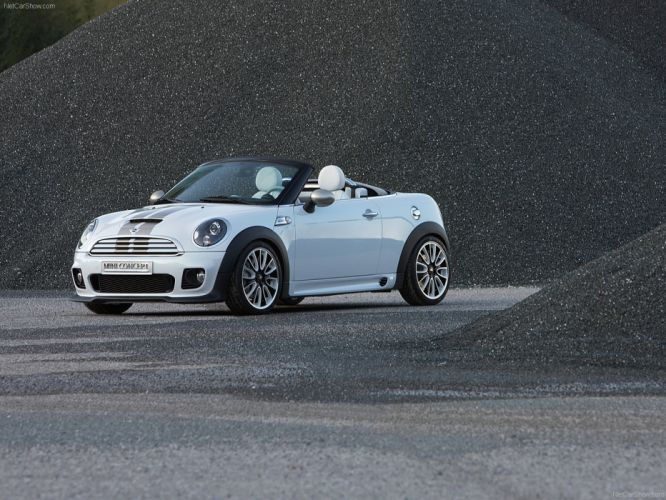 Mini Roadster Concept cars 2009 wallpaper