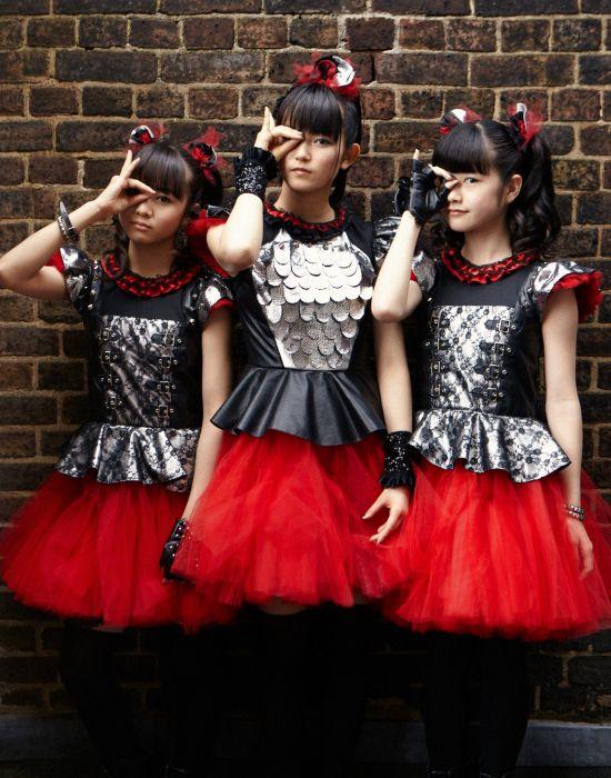 BABYMETAL japanese idol metal jpop j-pop pop heavy asian oriental girl girls 1bmetal visual kei heavy wallpaper