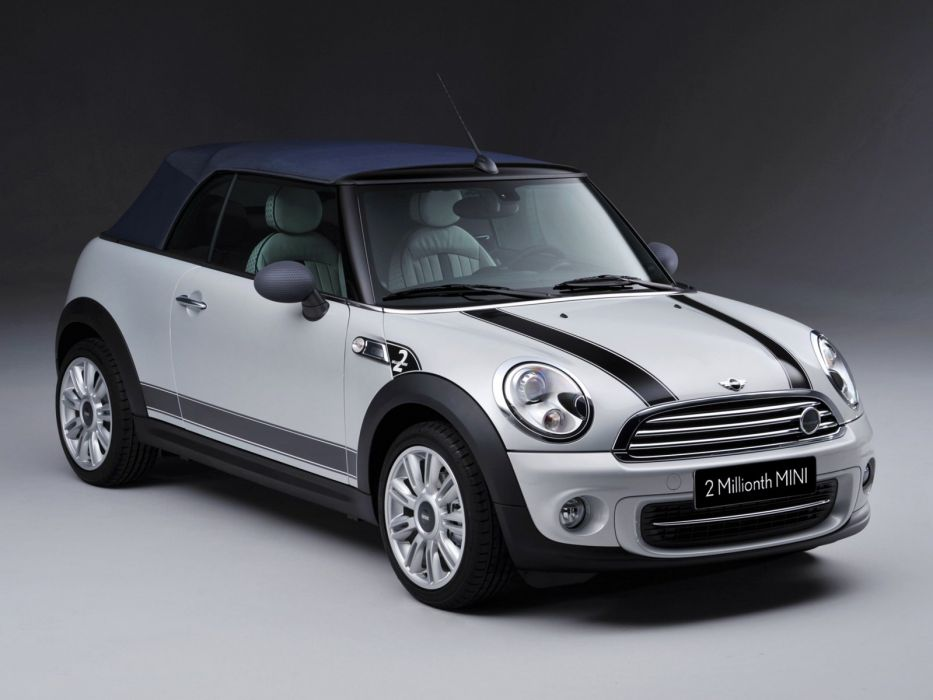 Mini Cooper-S Cabrio 2-Millions cars 2011 wallpaper