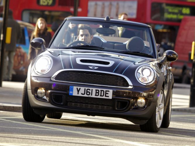 Mini Cooper-S Cabrio Highgate UK-spec cars 2012 wallpaper