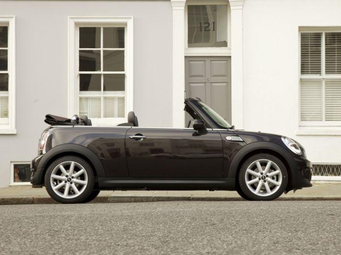 Mini Cooper-S Cabrio Highgate UK-spec cars 2012 wallpaper