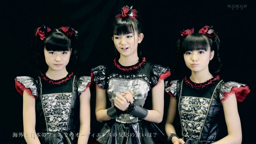 BABYMETAL japanese idol metal jpop j-pop pop heavy asian oriental girl girls 1bmetal visual kei heavy wallpaper