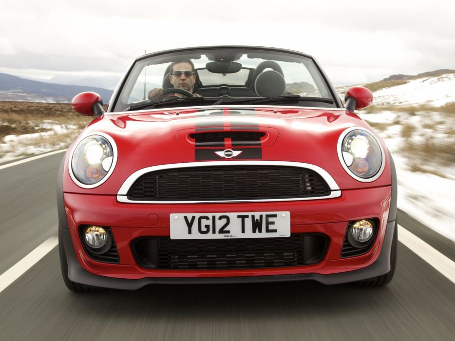 MINI Cooper-S Roadster UK-spec cars 2012 wallpaper