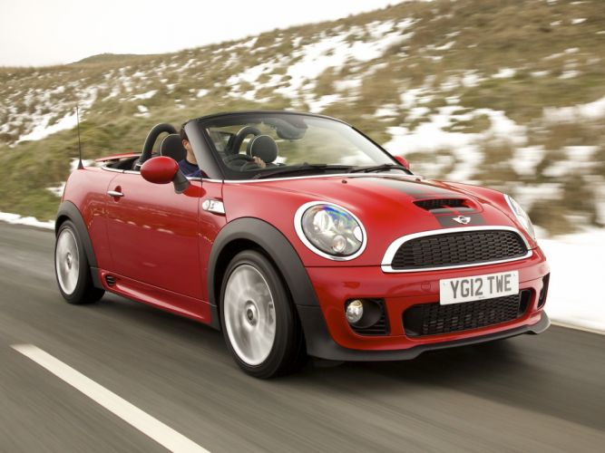 MINI Cooper-S Roadster UK-spec cars 2012 wallpaper