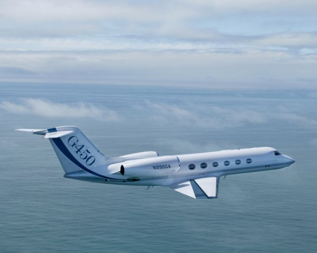 GULFSTREAM aircraft airplane jet transport wallpaper