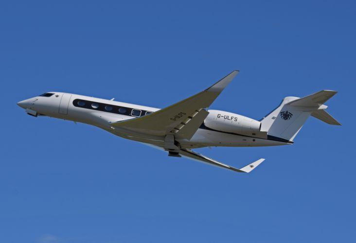 GULFSTREAM aircraft airplane jet transport wallpaper