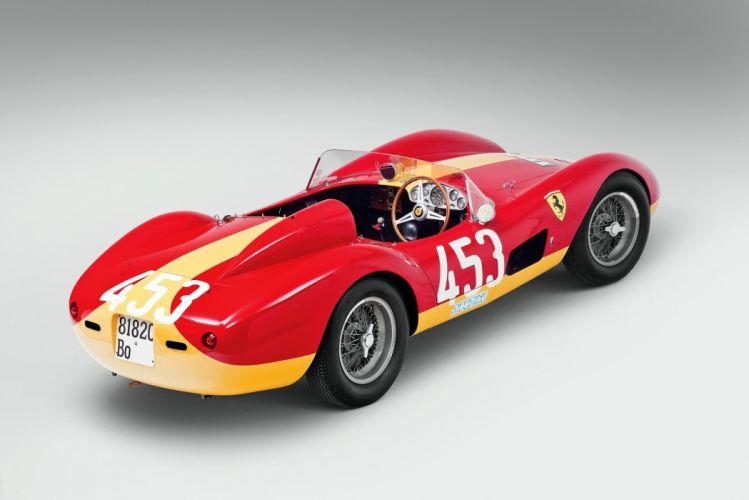 Ferrari 500 TRC 1957 cars racecars classic wallpaper