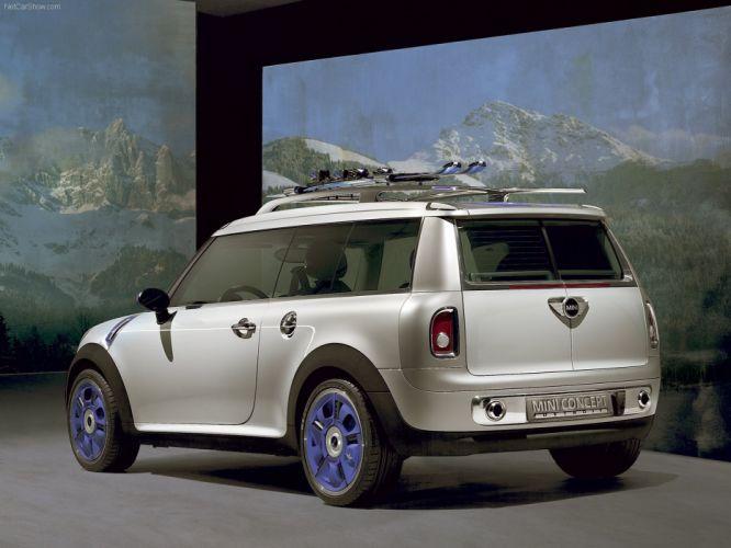 Mini Concept Detroit cars 2006 wallpaper