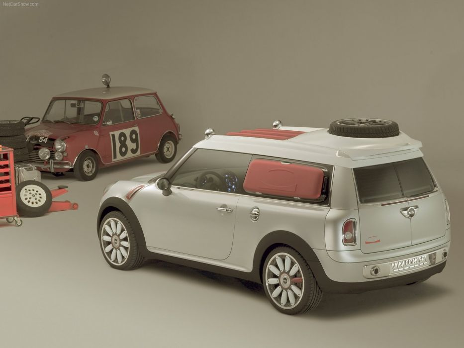 Mini Concept geneve cars 2006 wallpaper