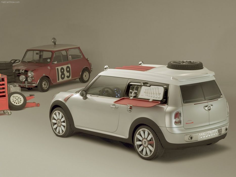 Mini Concept geneve cars 2006 wallpaper