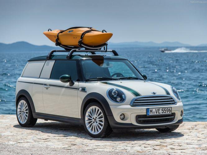 Mini Clubvan Camper cars 2013 wallpaper