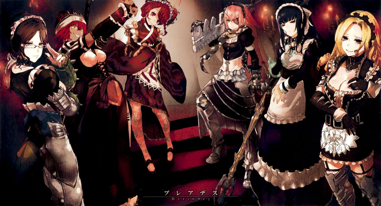 group overlord scan tagme tagme (artist) tagme (character) wallpaper