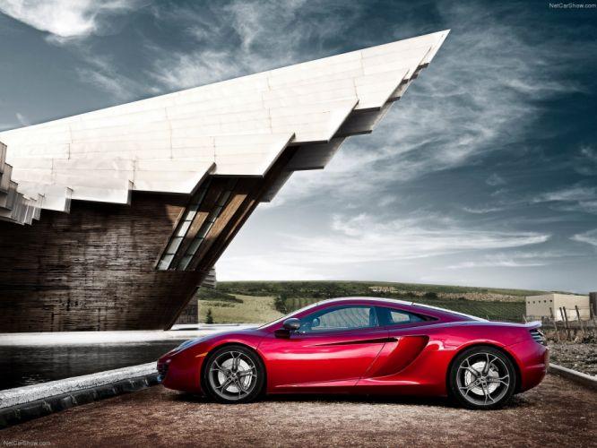 McLaren MP4-12C cars supercars 2011 wallpaper