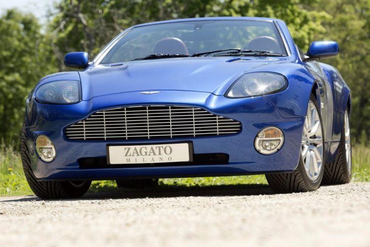 Aston Martin V12 Vanquish Roadster Zagato cars 2004 wallpaper