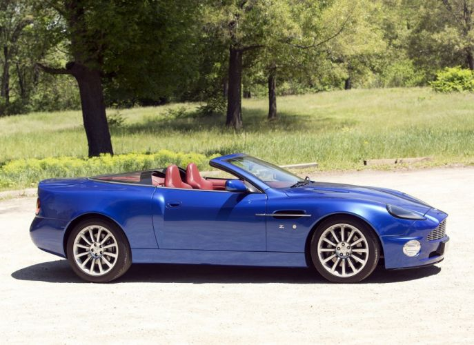 Aston Martin V12 Vanquish Roadster Zagato cars 2004 wallpaper
