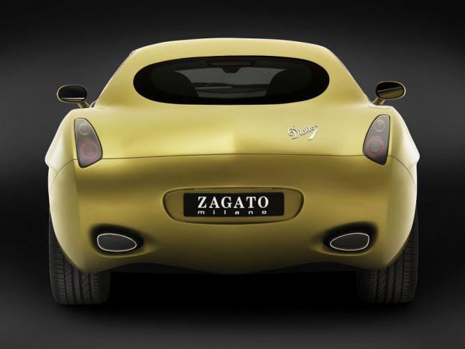Zagato Diatto Ottovu cars 2007 wallpaper