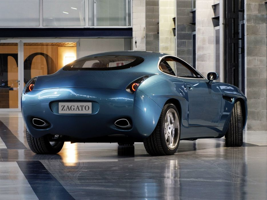 Zagato Diatto Ottovu cars 2007 wallpaper