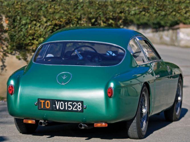 Fiat-8V Berlinetta 1955 Zagato cars wallpaper