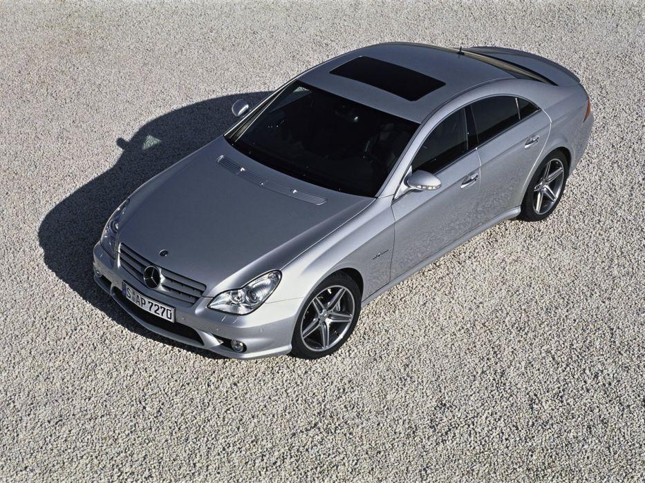 Mercedes-Benz CLS-63 AMG cars 2007 wallpaper