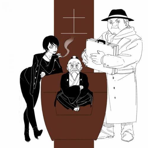 NARUTO Kurotsuchi Akatsuchi Ryoutenbin no Ounoki Cigarette wallpaper
