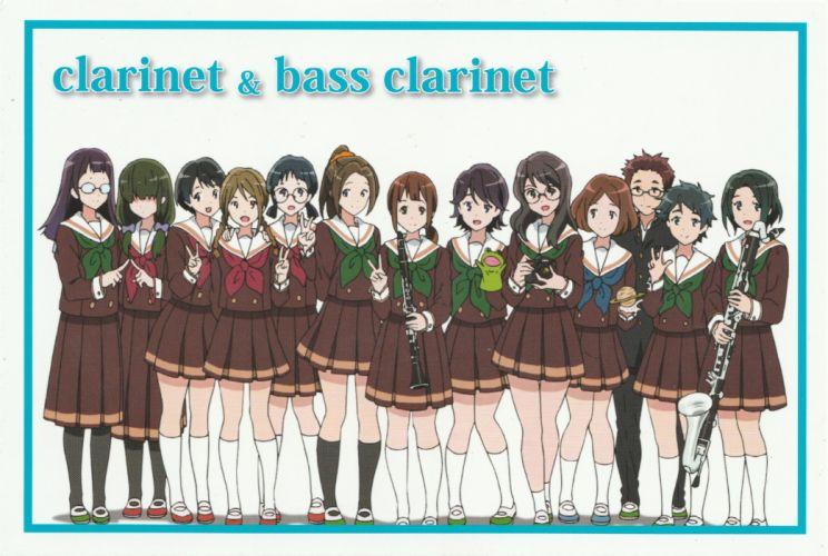 Hibike Euphonium Saxophone Music wallpaper