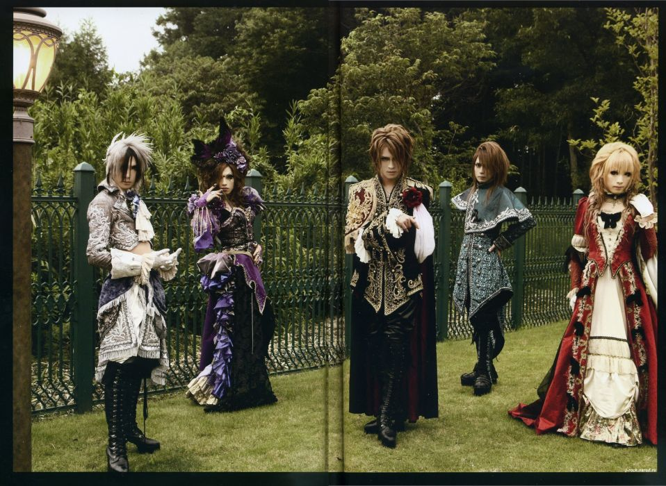 VERSAILLES visual kei jrock j-rock rock pop jpop j-pop poster d wallpaper