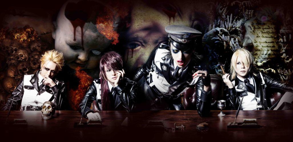 BORN visual kei jrock j-rock rock pop jpop j-pop glam wallpaper