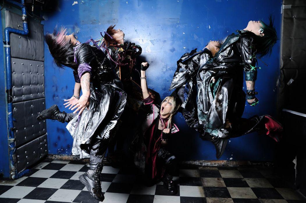 UCHUSENTAI NOIZ visual kei jrock j-rock rock pop jpop j-pop glam wallpaper