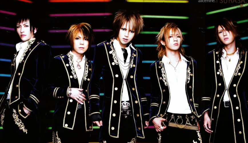 ALICE NINE visual kei jrock j-rock rock pop jpop j-pop glam wallpaper