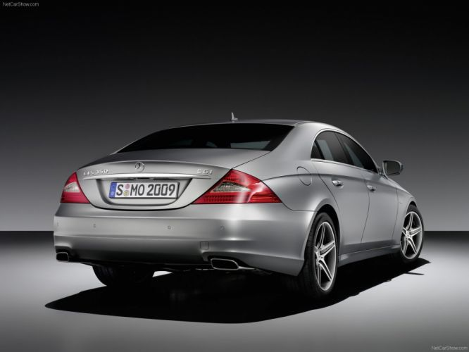 Mercedes-Benz CLS Grand Edition cars 2009 wallpaper