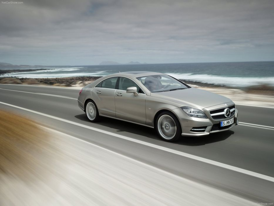 Mercedes-Benz CLS 350 cars 2012 wallpaper